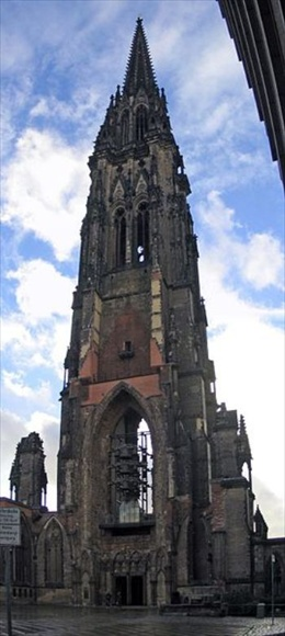 The Church of Saint Nicholas in Hamburg